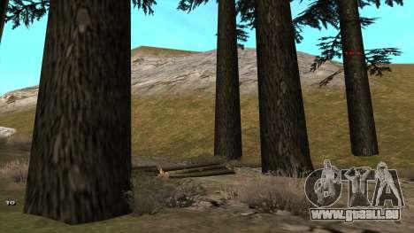 Трасса Offroad v1.1 par Rappar313 pour GTA San Andreas troisième écran