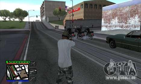 C-HUD by Niko für GTA San Andreas