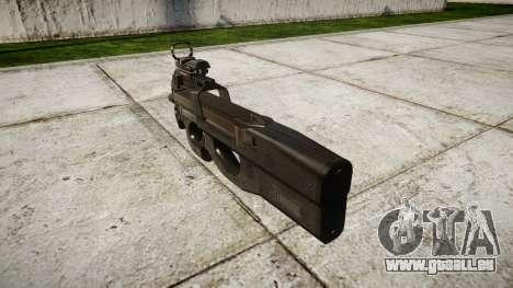 Belge mitraillette, FN P90 cible pour GTA 4 secondes d'écran