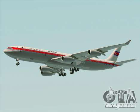 Airbus A340-300 Air Koryo für GTA San Andreas Räder
