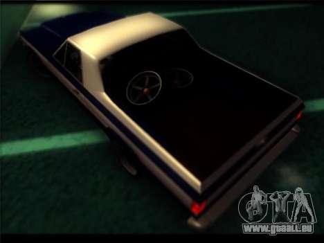 Nouveau Picador pour GTA San Andreas vue intérieure