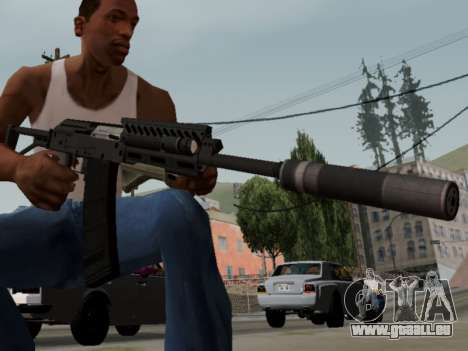 Heavy Shotgun GTA 5 (1.17 update) pour GTA San Andreas