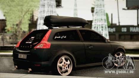 Volvo C30 Stanced pour GTA San Andreas laissé vue