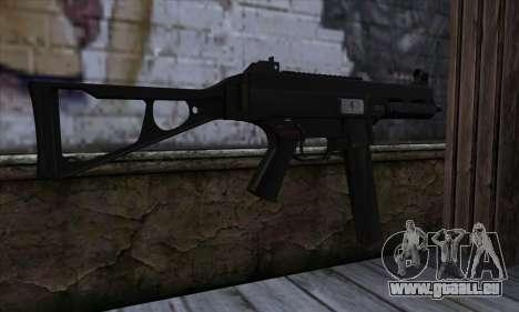 UMP45 v2 pour GTA San Andreas deuxième écran