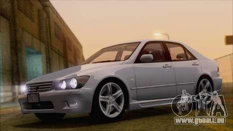 Toyota Altezza (RS200) 2004 (HQLM) pour GTA San Andreas