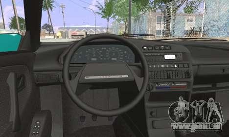 VAZ 2114 für GTA San Andreas zurück linke Ansicht