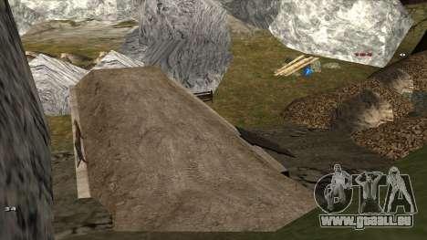 Трасса Offroad v1.1 par Rappar313 pour GTA San Andreas neuvième écran