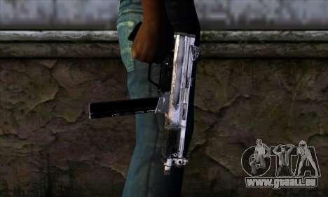 Tec9 from Call of Duty: Black Ops für GTA San Andreas dritten Screenshot