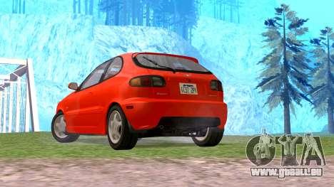 Daewoo Lanos Sport UNS 2001 für GTA San Andreas linke Ansicht