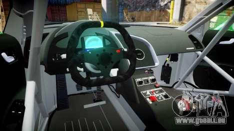 Audi R8 LMS Sharpie für GTA 4 Rückansicht