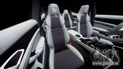 Porsche Panamera GTS 2014 pour GTA 4 est un côté