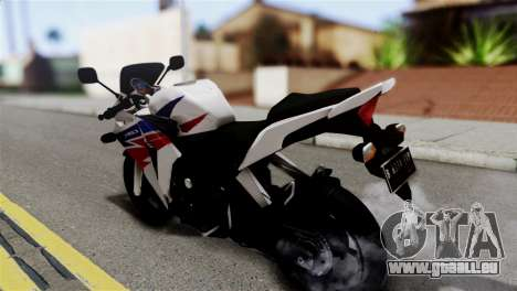 Honda CBR150FI pour GTA San Andreas laissé vue