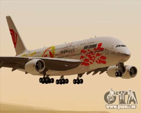 Airbus A380-800 Air China pour GTA San Andreas
