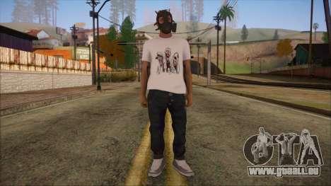 GTA 5 Online Skin 7 pour GTA San Andreas