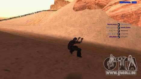ped.ifp par Pavel_Grand pour GTA San Andreas deuxième écran