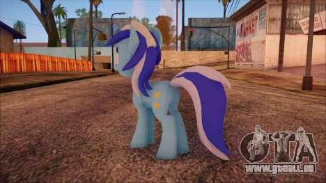 Colgate from My Little Pony pour GTA San Andreas deuxième écran