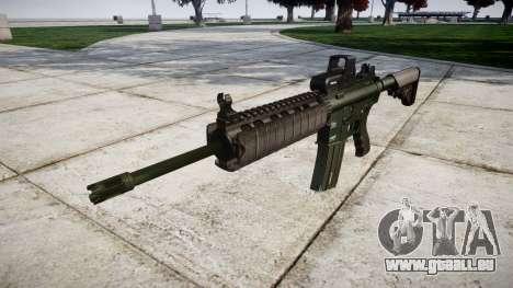 Machine M4A1 cible pour GTA 4