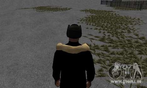 Veste d'hiver pour GTA San Andreas troisième écran