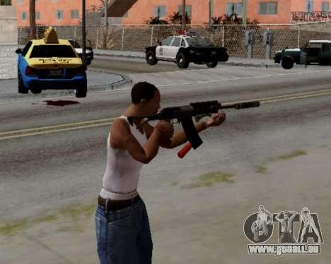 Heavy Shotgun GTA 5 (1.17 update) für GTA San Andreas dritten Screenshot