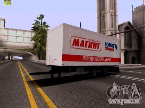Remorque Magnit pour GTA San Andreas