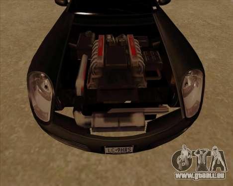Stinger pour GTA San Andreas vue intérieure