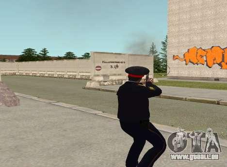 Sergeant Polizei für GTA San Andreas her Screenshot