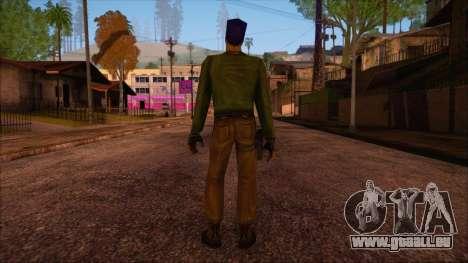 Leet from Counter Strike Condition Zero pour GTA San Andreas deuxième écran