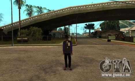 The Ballas Skin Pack für GTA San Andreas dritten Screenshot