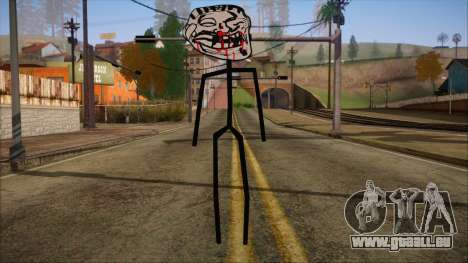 Skin de Meme Troll Golpiado für GTA San Andreas