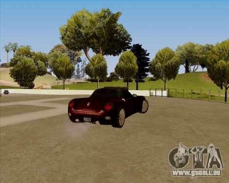 Stinger pour GTA San Andreas laissé vue