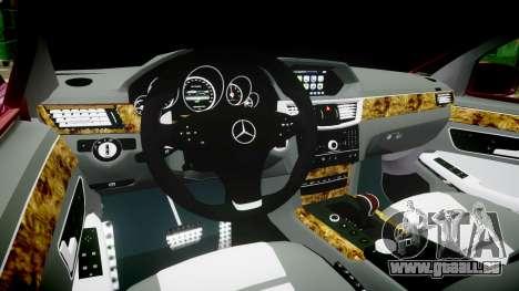 Mercedes-Benz W211 E55 AMG pour GTA 4 Vue arrière
