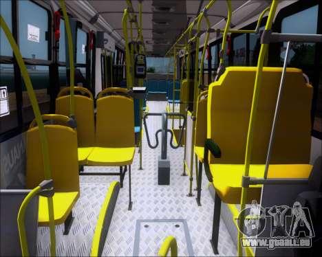 Marcopolo Torino G7 2007 VEGA Manaus 1011049 pour GTA San Andreas vue intérieure