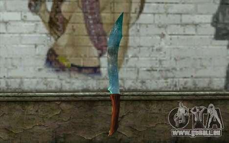 Couteau de diamant pour GTA San Andreas