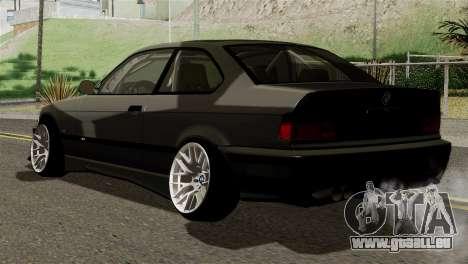 BMW M3 E36 Bucale Drift für GTA San Andreas linke Ansicht
