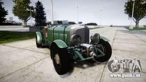 Bentley Blower 4.5 Litre Supercharged [low] pour GTA 4