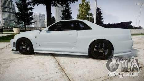 Nissan Skyline R34 GT-R NISMO Z-tune [RIV] pour GTA 4 est une gauche