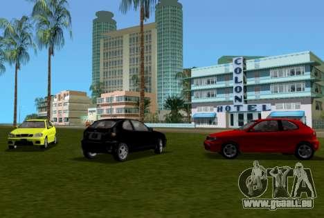 Daewoo Lanos Sport NOUS 2001 pour une vue GTA Vice City d'en haut
