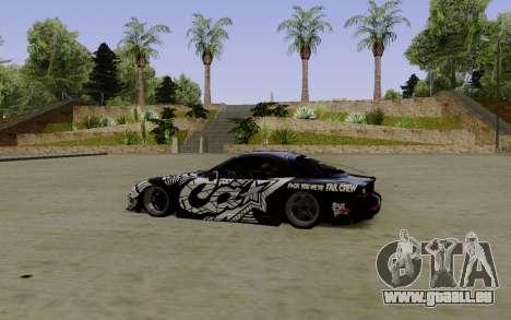 Mazda RX-7 Fail Crew für GTA San Andreas linke Ansicht