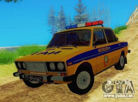 VAZ 2106 GAI pour GTA San Andreas