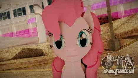 Pinkie Pie from My Little Pony für GTA San Andreas dritten Screenshot