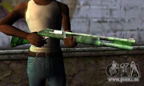 Chromegun v2 Militärischen färben für GTA San Andreas dritten Screenshot