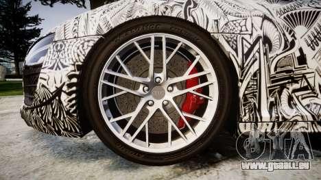 Audi R8 LMX 2015 [EPM] Sharpie für GTA 4 Rückansicht