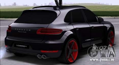 Porsche Macan Vossen pour GTA San Andreas vue de droite