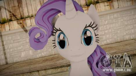 Rarity from My Little Pony für GTA San Andreas dritten Screenshot