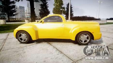 Chevrolet SSR pour GTA 4 est une gauche