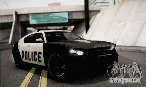 Bravado Buffalo S Police Edition (IVF) pour GTA San Andreas