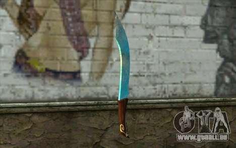 Couteau de diamant pour GTA San Andreas deuxième écran