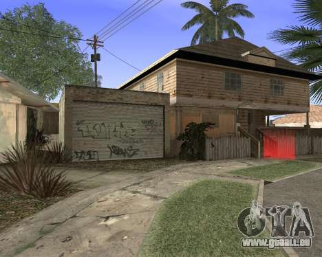 Textur Los Santos von GTA 5 für GTA San Andreas fünften Screenshot