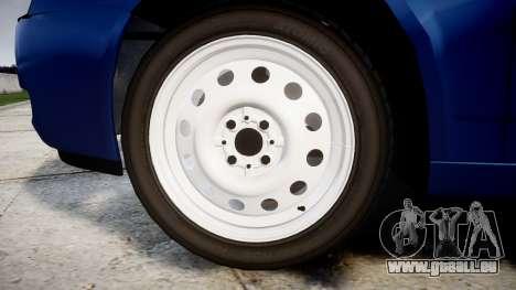 ВАЗ-2171 INSTALLÉ Avant rims2 pour GTA 4 Vue arrière