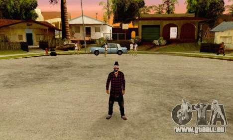 The Ballas Gang Skin Pack pour GTA San Andreas troisième écran